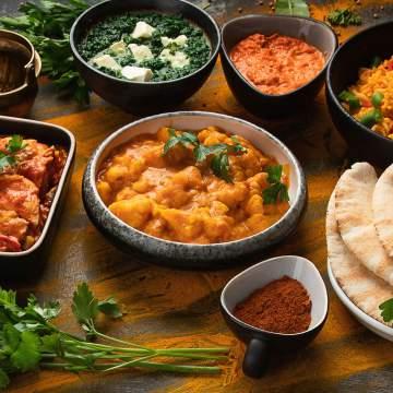 Vente à emporter de cuisine indienne à Nantes